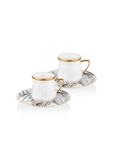 The Mia Cote Kahve Fincanı - 2 Kişilik Renkli